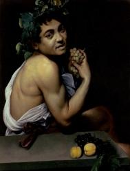 """""""Bacco 1591"""" - Caravaggio"""