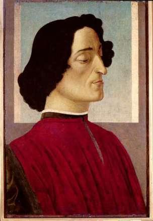 Ritratto di Giuliano De Medici 1446 - 1510