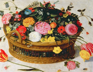 Basket Of Flowers - Jan Brueghel