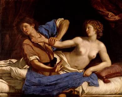 Giuseppe e la moglie di Putifarre - 1649