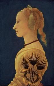 Ritratto di Signora in giallo - Alesso Baldovinetti