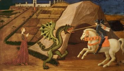 San Giorgio e il drago - Paolo Uccello
