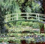 Ninfee bianche, Monet - Il verde è il colore dell'energia