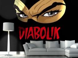 Diabolik, il re del terrore, per personalizzare gli ambienti.